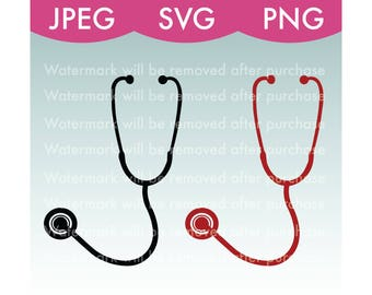 Stethoscope Vector Image - SVG, PNG, JPEG, Nurse, Doctor, Health, Healthcare, Hospital, Art, Stock Photo, File, Cricut, Silhouette, Download