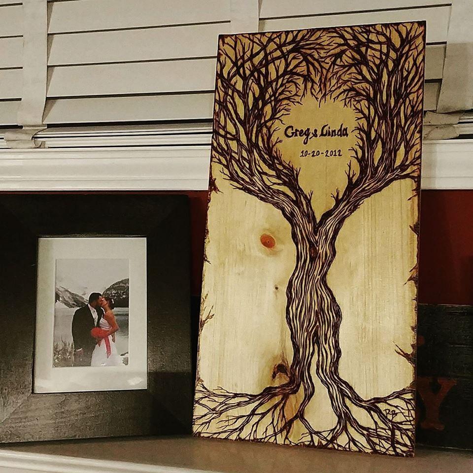 wood anniversary gift - Husband gift - wife gift - Retirement gift ...