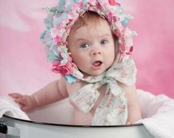 Floral bonnets