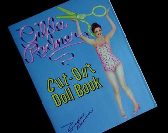 Vintage 70s Gilda Radner Cut-Out Paper Doll Book Uncut