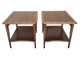 Lane Acclaim Side Tables or Nighstands, Pair