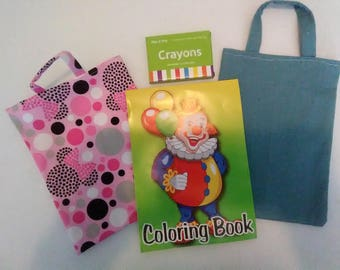 Children's Coloring Bags