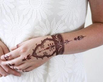 Henna Tattoo Jamaica : Henna tattoo etsy