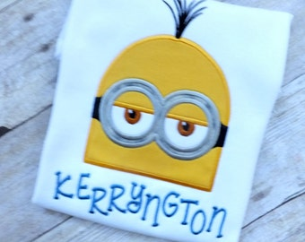 Personalized Minion Inspired T-shirt for Boys