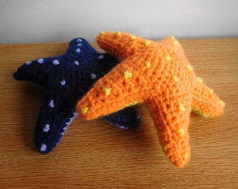 Crochet Stuffed Starfish - Many Colors