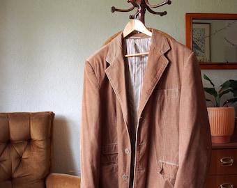Bronze Corduroy 70's Mens Jacket GAZMAN