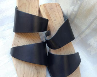 Wooden Sandals Trippen Almost New Site 40