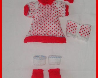 knitting pattern/ bunnie's clothes/ Playtime/ PDF knitting pattern/ Instand Download/doll's clothes