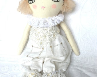Vintage-Style Ragdoll - Gifts for Women - Baby Shower - Nursery Decor Girls - Soft Doll - Gifts for Girls - Home Decor Doll