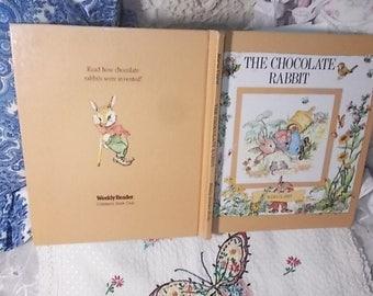 The Chocolate Rabbit 1984 ,Vintage Children's Book, Children's Book, Old Book, Vintage book, Bunny Book, Rabbit Book, Spring Book :)s