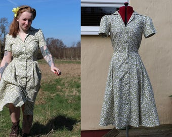 Mae Teadress - 1940's Reproduction Dress