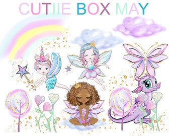 PRE ORDER May Cutiie Box - No coupons Please