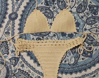 Crochet Bikini , Crochet Swimsuit , Two Piece Swimsuit Set