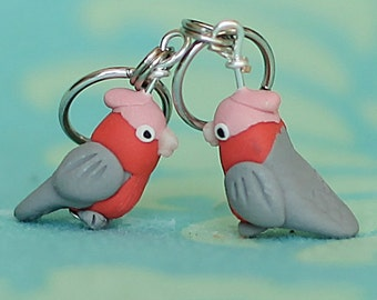 Galah Stitch Markers (flock of 4)