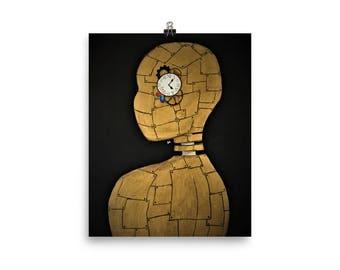 Robot Portrait Poster