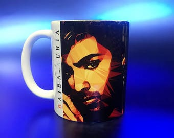 George Michael #1 Mug by Baiba Auria (Wham, gift, coffee mug, present, music, last Christmas, club tropicana, 80s music)
