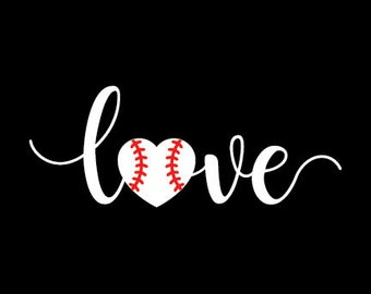 Baseball Love Baseball Mom Digital File Download SVG