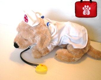 DOG COSTUME, nurse Dog Costume, Halloween For Pets, nurse costume, pet clothes, dog clothes