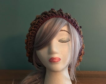 Slouchy Winter Hat - Crochet