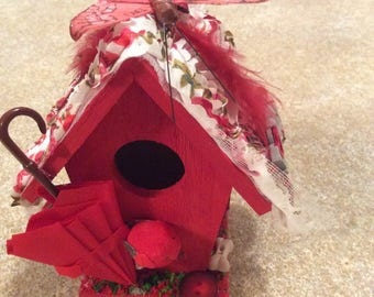 The little red fairy house