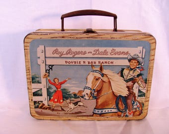 Roy Rogers Lunch Box from 1950's