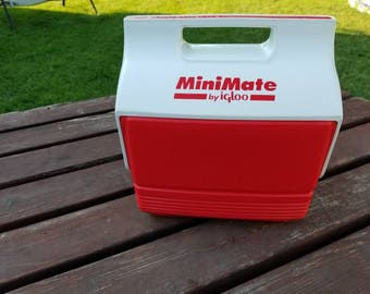 Free Shipping!! MiniMate Cooler By Igloo with Havoline Racing Advertising