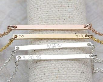 Ultra Mini Name Tag Bracelet / Nameplate Bracelet / Personalized Jewelry / Bridesmaid Gift / Engraved Jewelry ( OD 30.2 BN)