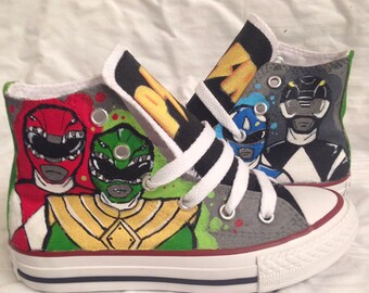 Power ranger kids/toddler converse