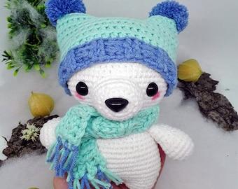 AMIGURUMI BEAR PATTERN, Bear Amigurumi Pattern, Crochet Bear Pattern, Pdf Tutorial, Teddy Bear Pattern