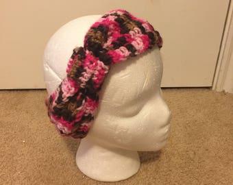 Sweet Mocha Knotted Headband