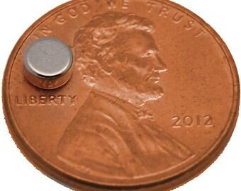 4mm x 2mm Disc - Neodymium Rare Earth Magnets