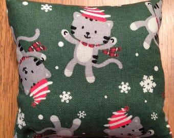 Green Holiday Handmade Catnip Cat Toy