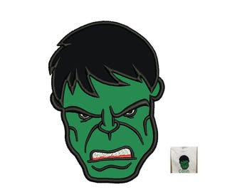 Hulk Applique Design - 3,4,5 inch instant download machine embroidery