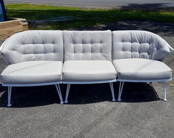 Russell Woodard Pinecrest Mid Century Sofa