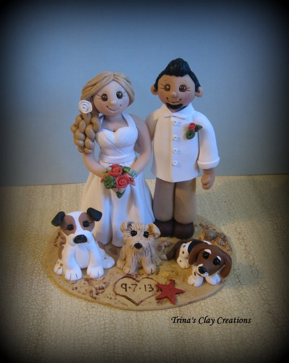 wedding cake toppers etsy wedding cake topper custom cake topper and groom with 8824