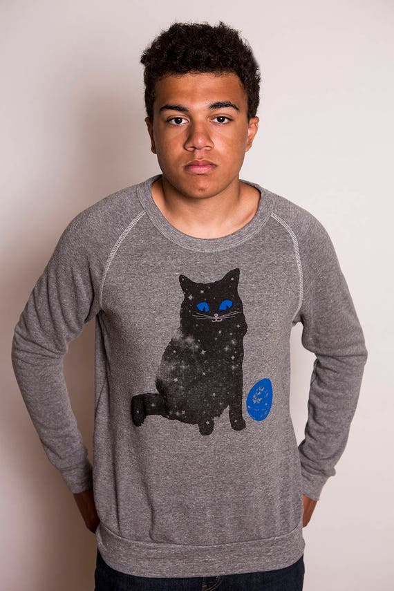 Men's Space Cat Sweatshirt