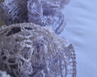 Lavender Knit Sashay Scarf