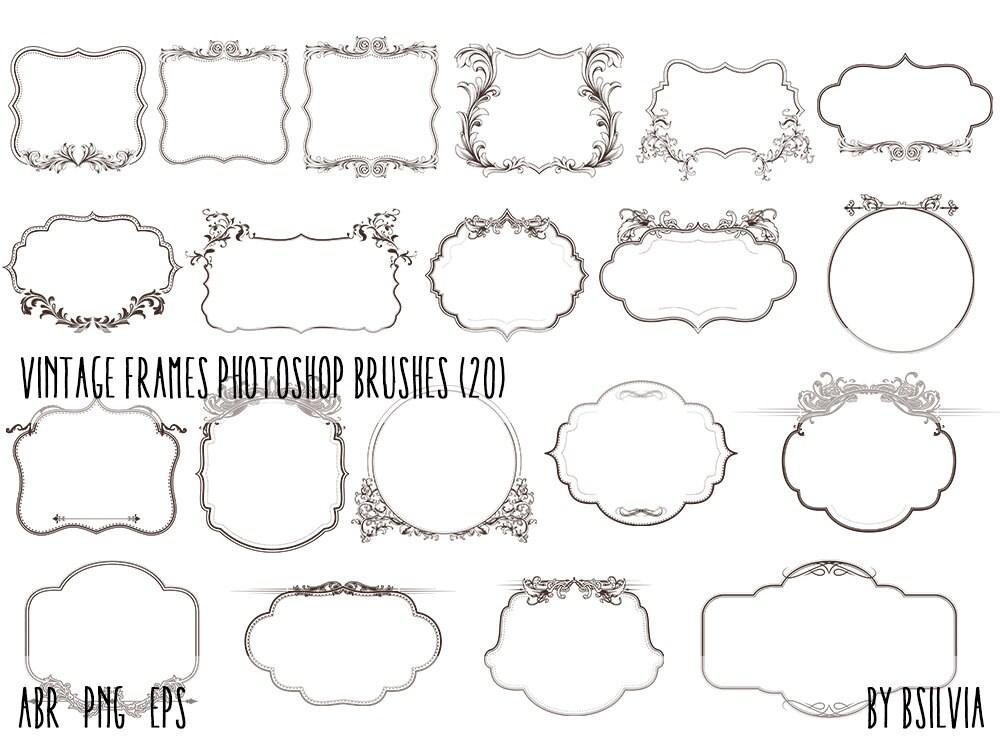 vintage frame design png. This Is A Digital File Vintage Frame Design Png