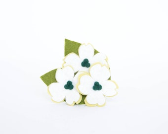 Dog Collar Flower - White Dogwood Blossoms
