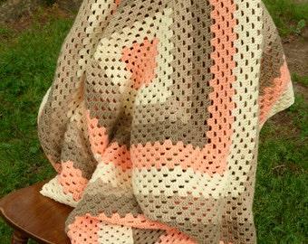 Mrs. Muir Afghan - PDF Crochet Pattern - Instant Download