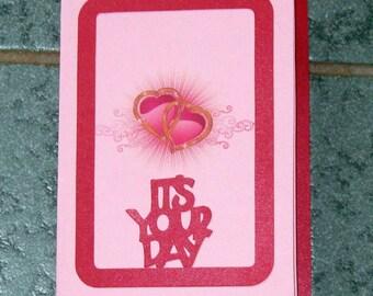 Valentine Card - layered