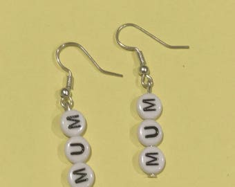 Mum Earrings
