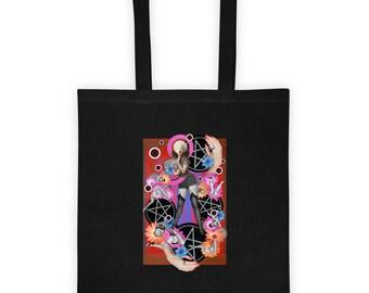 Four of Pentacles- Tote bag