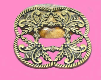 Large pendant Medallion medieval or baroque 52mm