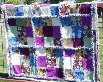 Passion to Fashion Rag Quilt Pattern