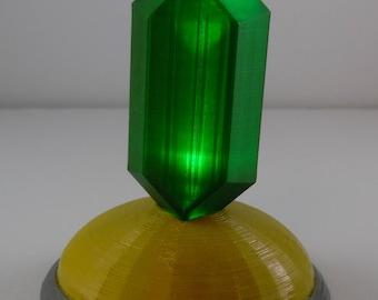 Legend of Zelda Light Up Rupee Statue