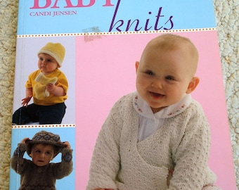 Total Baby Knits, by Candi Jensen for Leisure Arts Softcover Book