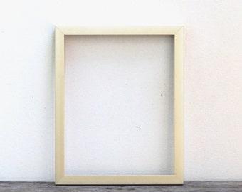 5x7 Modern Metal Gold Picture Frame, Brushed Light Gold Mid Century Modern Style Frame, Custom Metal Frames, 7x5 Gold Table Frame