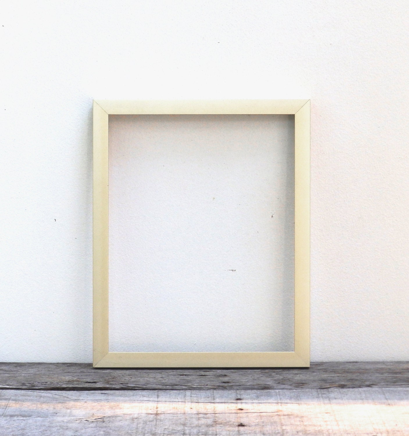 5x7 Modern Metal Gold Picture Frame, Brushed Light Gold Mid Century ...