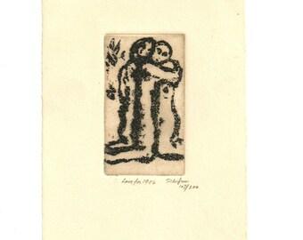 Arnold Schifrin Print Etching